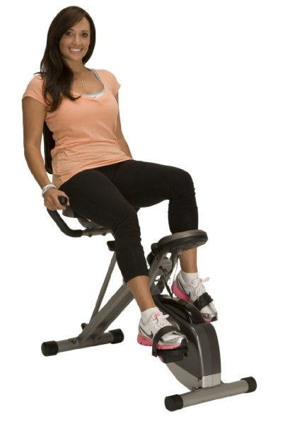 9. Exerpeutic 400XL Folding Recumbent Bike