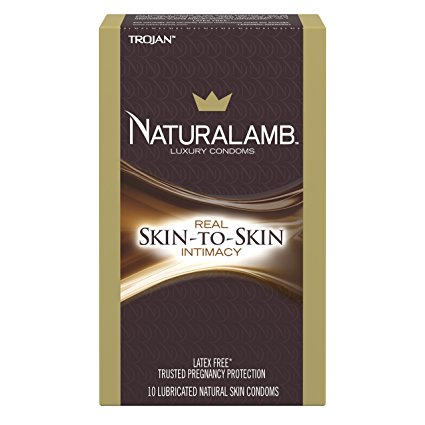 8. Trojan Naturalamb Lubricated Condoms, 10ct