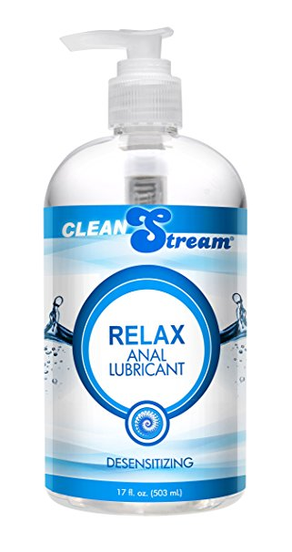 6. Cleanstream Relax Desensitizing Anal Lube, 17oz