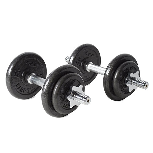 9. Power block adjustable dumbbell
