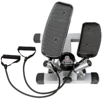 2. Sunny health and fitness twister stepper
