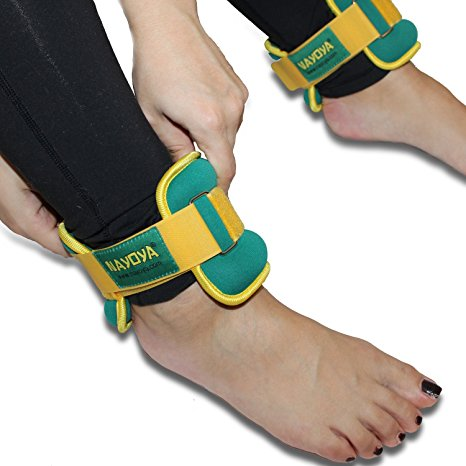 9. Nayoya 3 pond adjustable ankle weights set