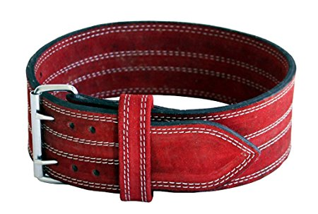 9. Ader Power Lifting Weight Belt, Red