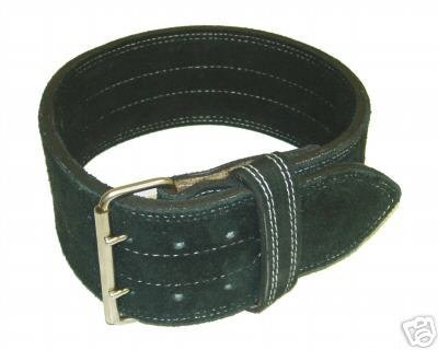 8. Ader Leather Power Lifting Weight Belt- 4