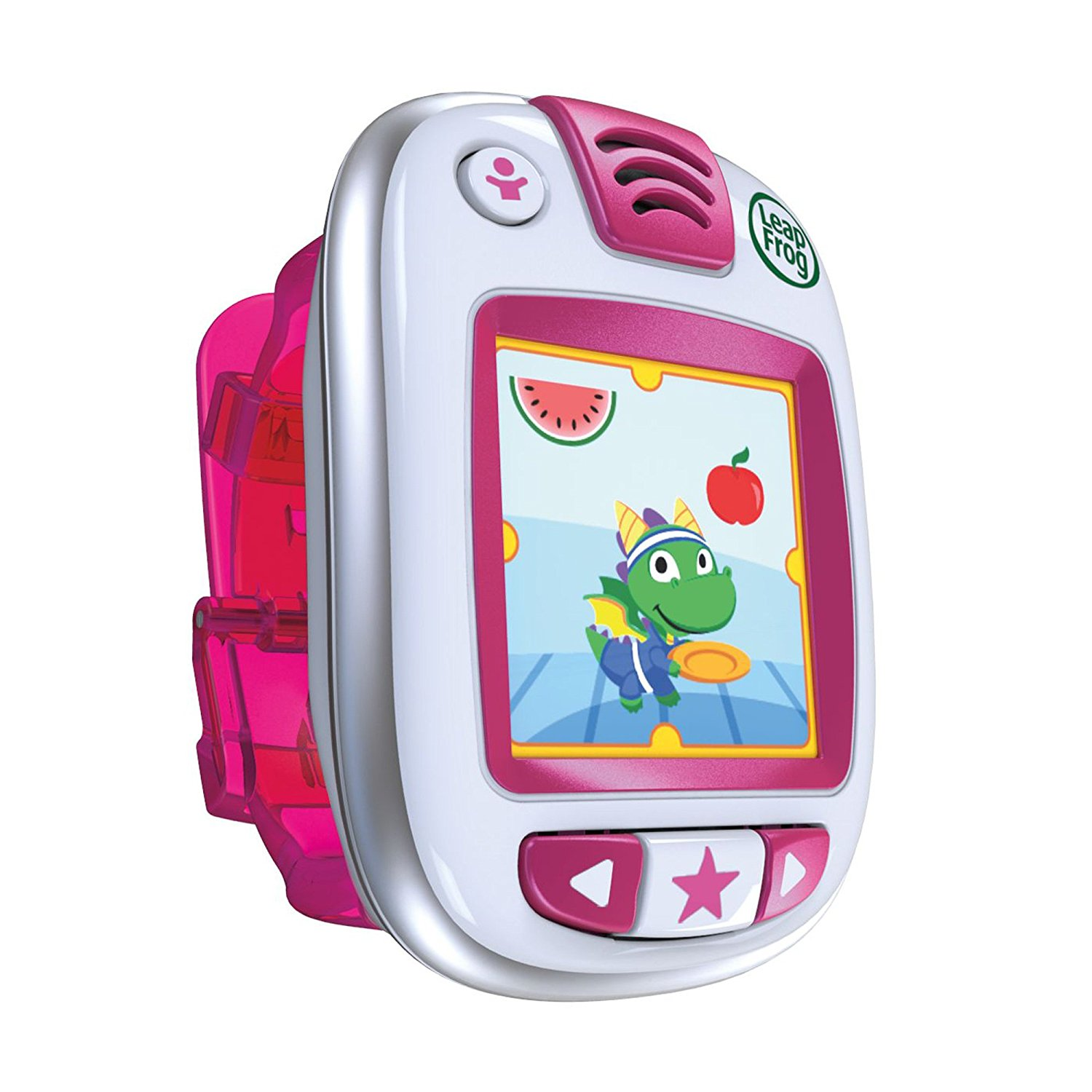 1. LeapFrog LeapBand Activity Tracker, Pink
