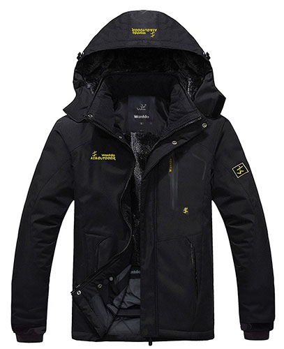1. Jacket Fleece Windproof Ski Jacket