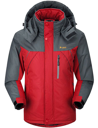 3. Outdoor Snow Jacket Ski Fleece Jacket