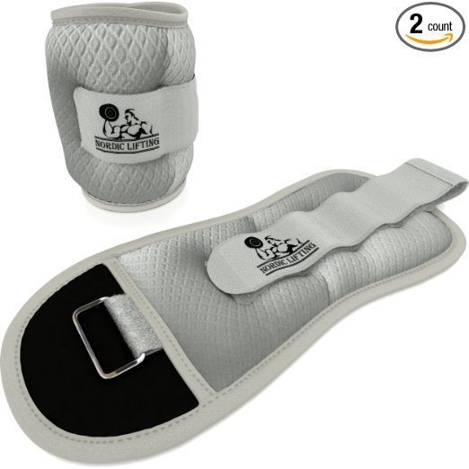 1 Ankle and wrist weights from Nordic Lifting