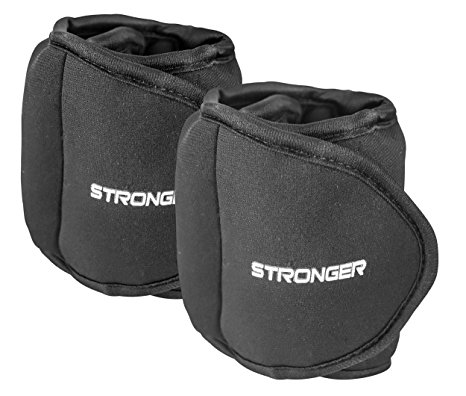 10. Stronger adjustable ankle weights sets for women