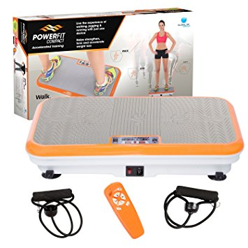 7. Power Fit Platform Fitness Plate