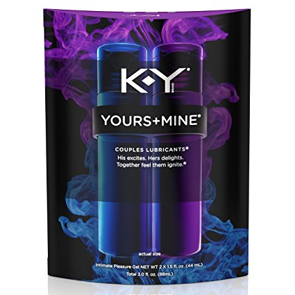 4. K-Y Yours and Mine Couples Lubricant, 3 Ounce