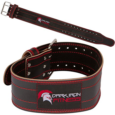 2. Leather Pro Weight lifting Belt