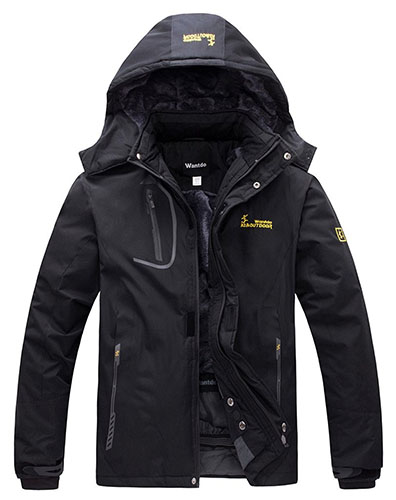 5. Fleece Windproof Ski Jacket