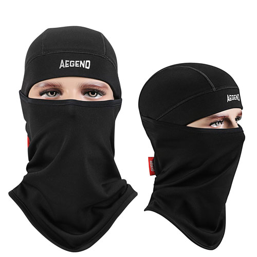 2. Aegend Balaclava Ski Face Mask