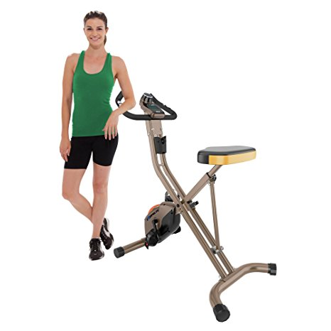 10. Exerpeutic GOLD 500 XLS Foldable Upright Bike