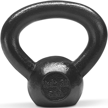 6. Yes4All Solid Cast Iron Kettlebell