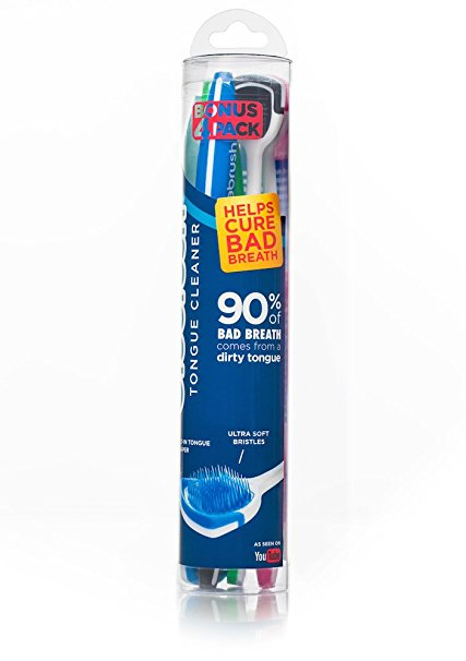7. Orabrush Tongue Cleaner,