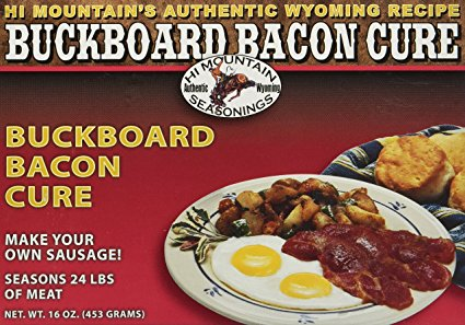 5. Hi Mountain Buckboard Bacon Cure 16 OZ