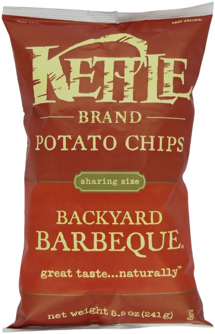 8. Kettle Brand Potato Chips, backyard barbecue