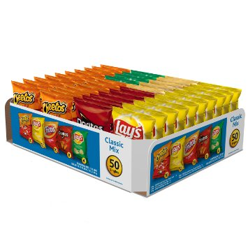 1. Frito-Lay Classic Mix Variety Pack,