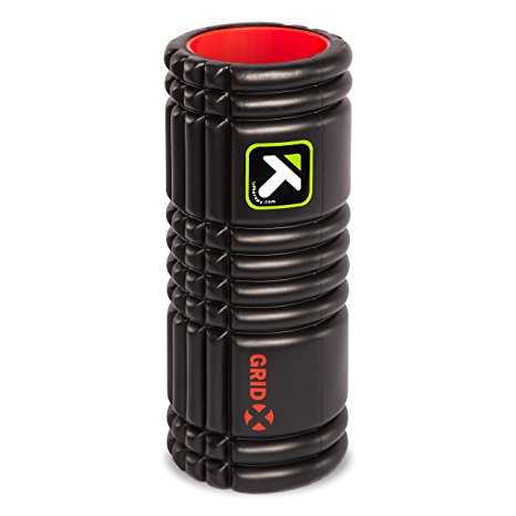 10. TriggerPoint GRID Foam Roller with Free Online Instructional Videos, X Extra Firm (13-inch)
