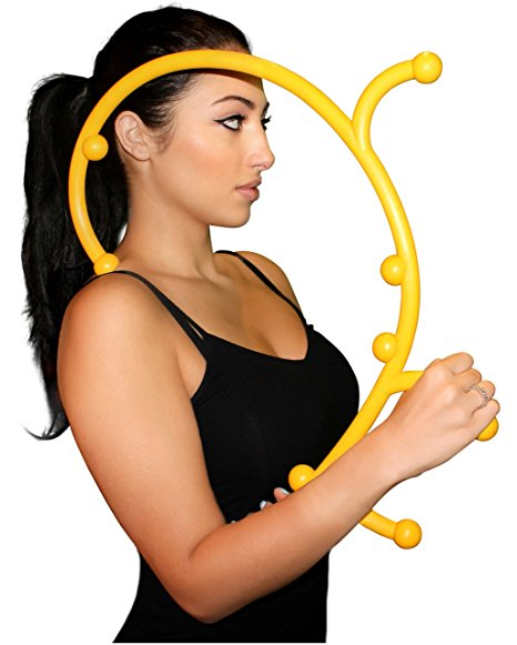 3. Nayoya Back Hook Massager - Patented Self Massager
