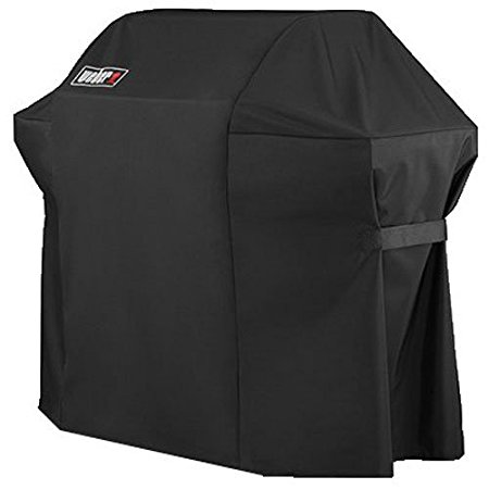 5. Weber 7107 Grill Cover (44in X 60in) with Storage Bag for Genesis Gas Grills
