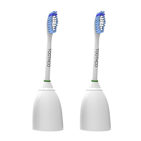 1. ToothCo Premium Standard Replacement Toothbrush Heads for Philips Sonicare