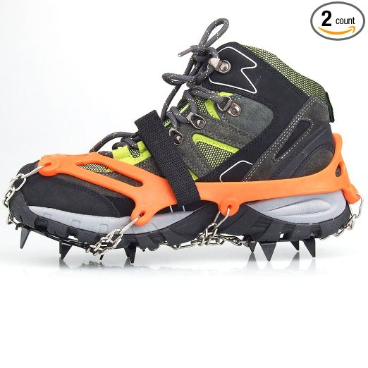 3. Vdealen 2 PCS 12 Teeth Claws Crampons