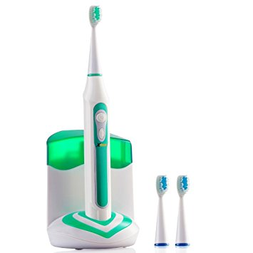 8. Xtech XHST-100Rechargeable Electric Ultrasonic Toothbrush
