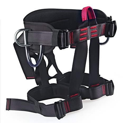 1. Thicken Wider Climbing Harness, Oumers Protect Waist