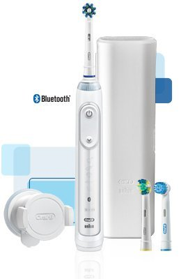 9. Oral-B Genius Pro Electric Toothbrush w/ Bluetooth Smart