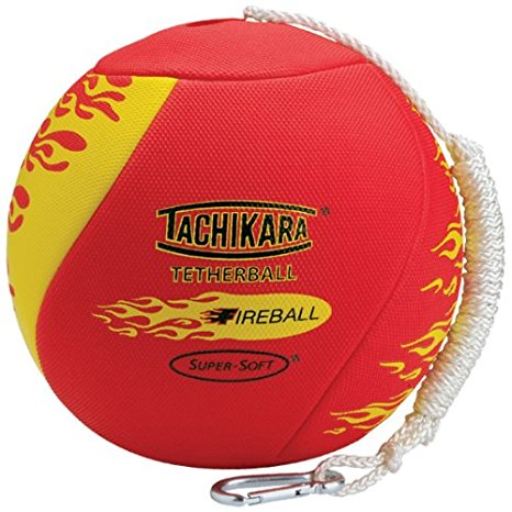7. Tachikara fireball super soft tetherball with diamond textured cover