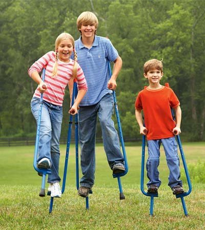 10. Super fun adjustable stilts