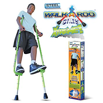 3. WALKAROO XTREME steel balance stilts with height adjustable vert lifters by air kicks
