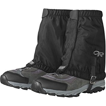 5. Outdoor research rocky mountain low gaiters.