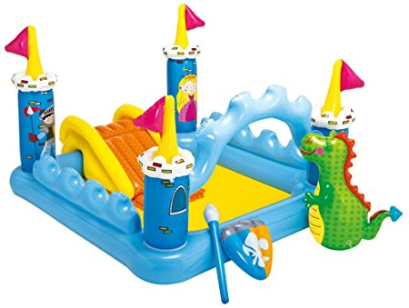 10. Intex Fantasy Castle Inflatable Play Center