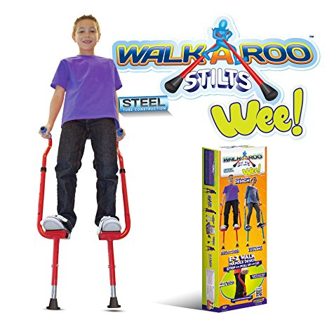 1. Walkaroo steel stilts by air kicks