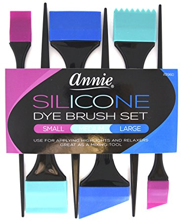 9. Annie silicone dye brush set