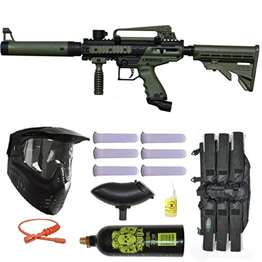 2. Tippmann Cronus tactical paintball gun 3skull mega set
