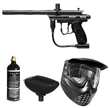 5. Spyder victor paintball marker gun 3skull package set