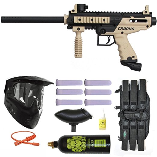 3. Tippmann Cronus paintball marker gun player package