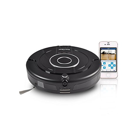4. Smart Robotic Vacuum Floor Cleaner with Built-in Camera