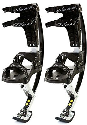 9. air-trekkers youth model- carbon fiber spring jumping stilts medium 70-95lbs
