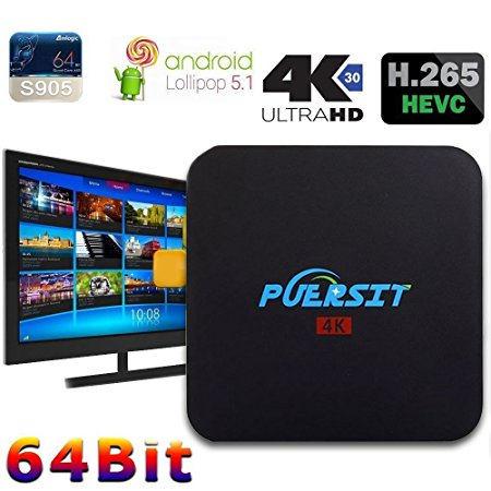 8. Puersit Q2 Pro Android 5.1 TV Box