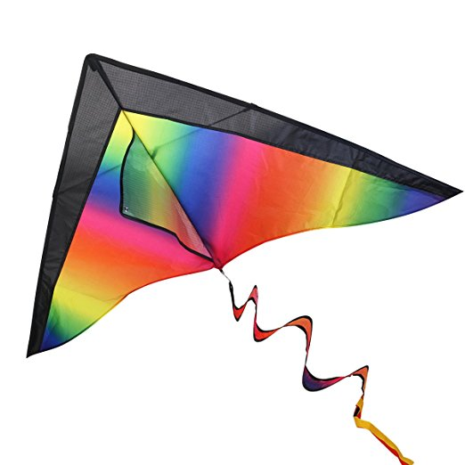 6. BESTOYARD rainbow kite.