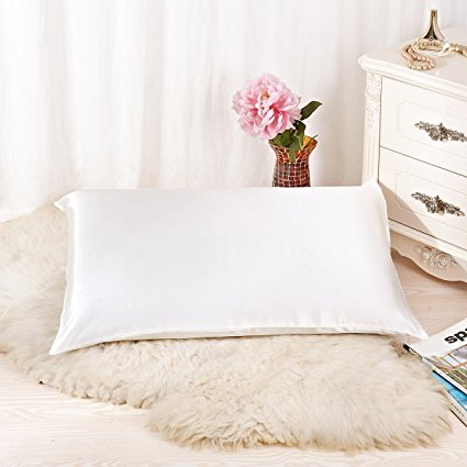 1. Natural Silk Pillowcase