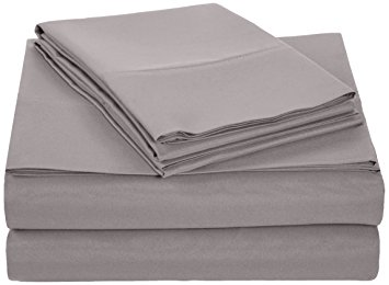 1. Amazon Basics Microfiber Sheet