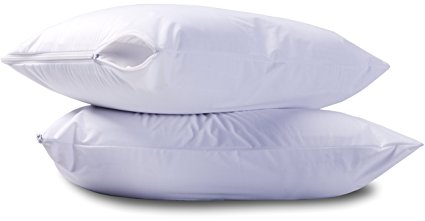 10. Waterproof Zippered Pillow Cover