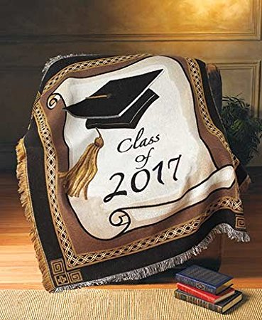 10. 2017 Graduation Throw